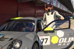 Kubica w Porsche 911 GT3 R w wyścigu 24h Dubai