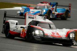 Podwójny triumf Porsche w kwalifikacjach na Fuji