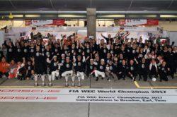 Porsche zdobywa podwójne mistrzostwo podczas wyścigu w Szanghaju